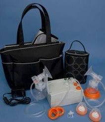 Breast milk pump and storage