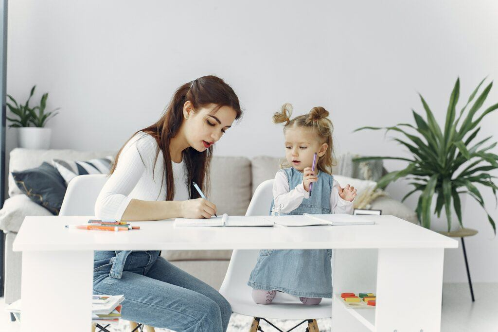 Online work at home jobs for moms