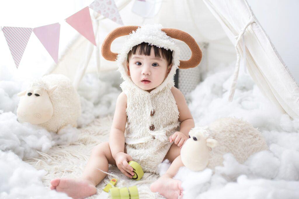 Baby monthly milestones