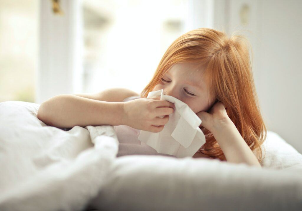 What causes nosebleeds in kids
