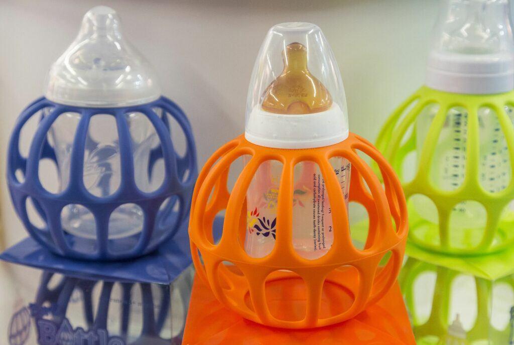 Microplastics in milk bottles