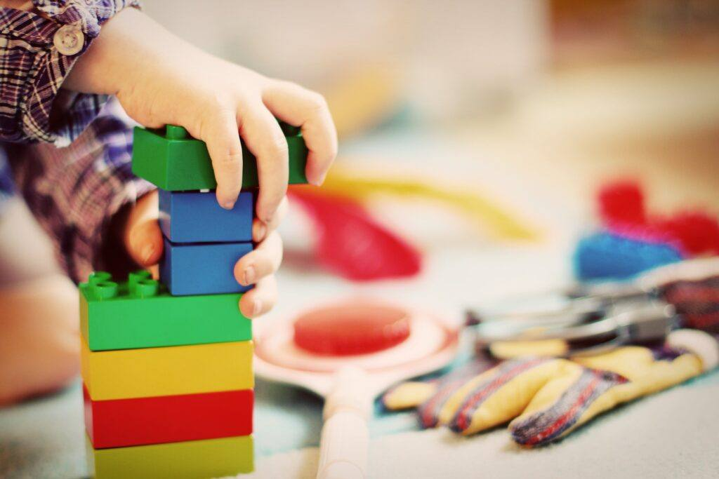 The educational benefits of toy blocks